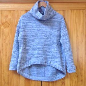 Anthropologie Hi Lo Hem Cowl Neck Sweater XS